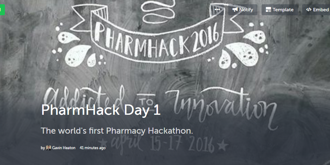 PharmHack – The World's First Pharmacy Hackathon