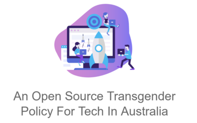 Why Disruptors Has Adopted a Transgender Policy