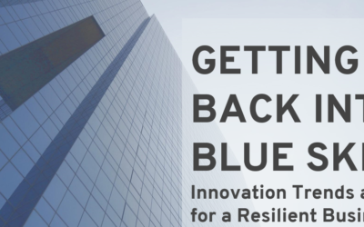 Innovation Trends and Resilience: Getting back into blue skies